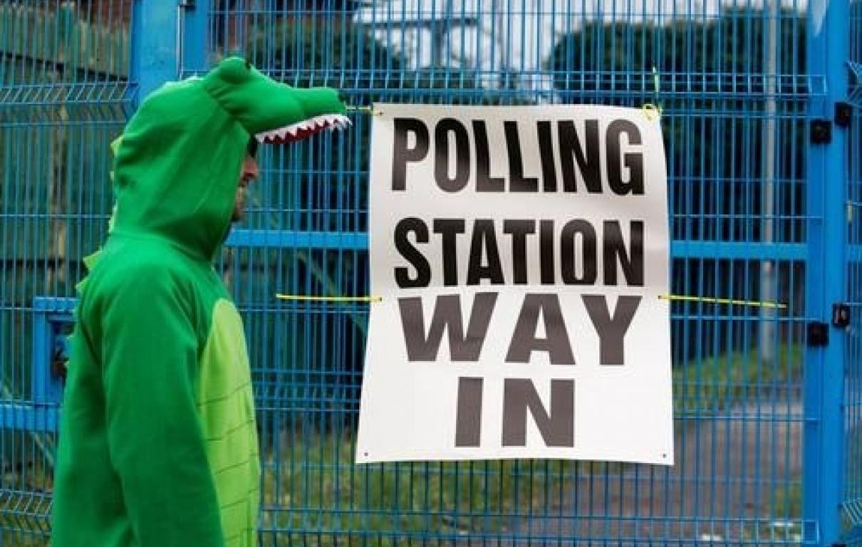 Election croc