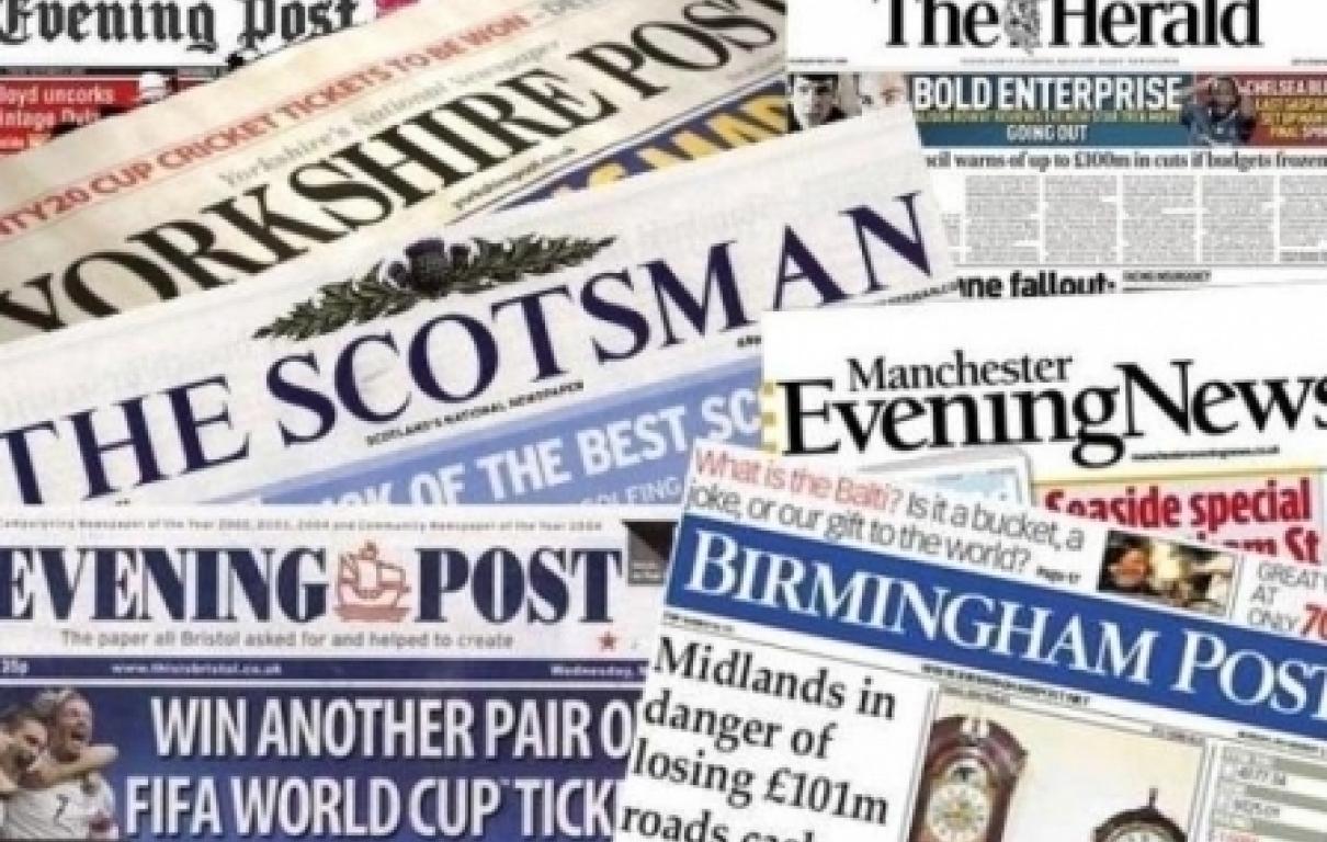 Regional newspapers