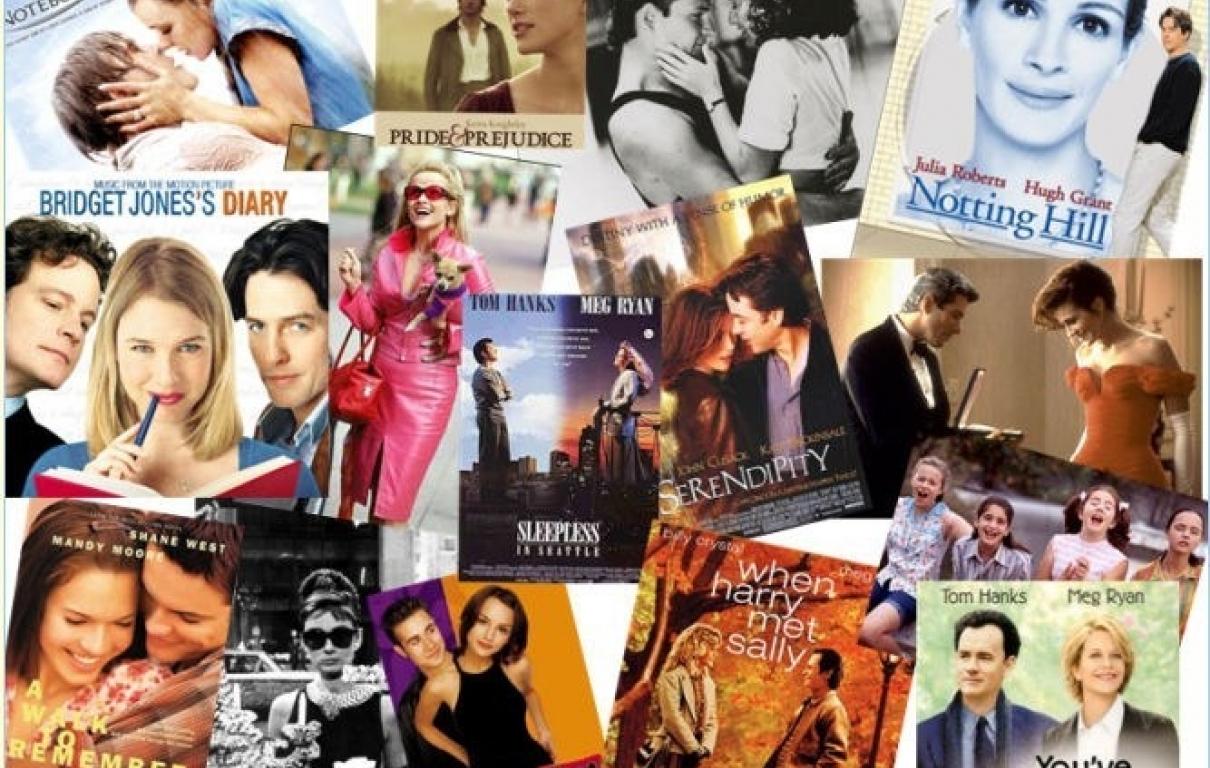 Rom com collage