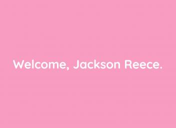 Welcome Jackson Reece