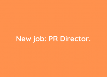We're hiring: Director of Public Relations